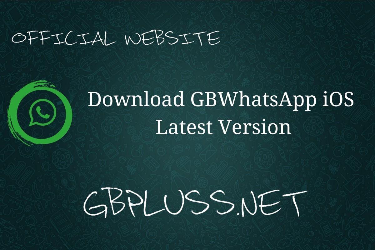 GBWhatsApp iOS