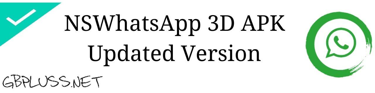 NSWhatsApp 3D Apk Download